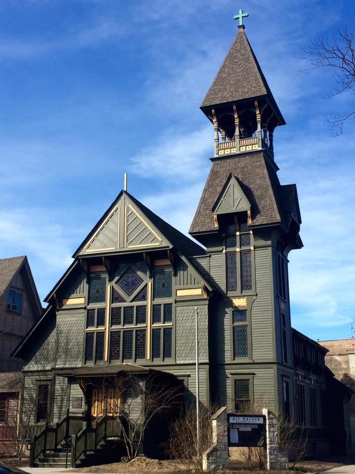 All Saints' Episcopal Church in Ravenswood